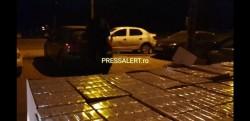 Cisternă plină cu 500 de baxuri de țigări de contrabandă descoperită de către polițiștii DIICOT Timișoara