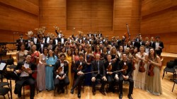 Orchestra Română de Tineret dirijată de Cristian Mandeal la Arad și Budapesta