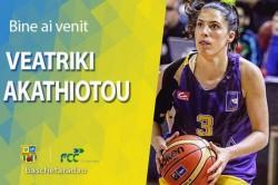 """FCC Baschet Arad a oficializat primul transfer al verii! Veatriki Akathiotou, internațională din Cipru, a semnat cu """"galben-albastrele"""""""