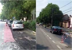 Atenție șoferi! Nu parcați pe Mărășești!