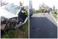 Accident grav la Zerind cu victime!