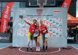 FCC Baschet Arad s-a impus la Superbet Cluj Streetball! Arădencele au învins Brașovul în finală