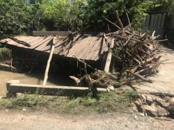 ISU Arad a intervenit la Săvârșin în urma inundațiilor
