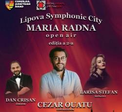 Cezar Ouatu cântă la Lipova Symphonic City