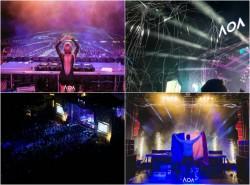 Arad Open Air - un festival ce crește de la an la an. A doua zi a fost plină de energie pozitivă cu un public de peste 10.000 de petrecăreți