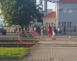 Doi bicicliști accidentați în zona UTA