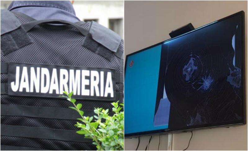 Un arădean de 22 de ani s-a ales cu interdicție într-un local și dosar penal după ce a aruncat cu o sticlă de bere în televizor