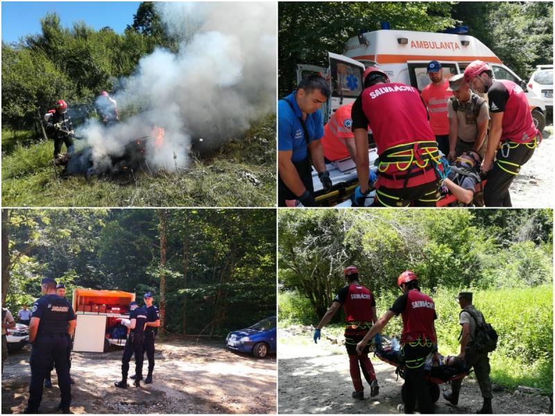 OPERAȚIUNEA PĂDUREA - exercițiu situații de urgență la Bârzava