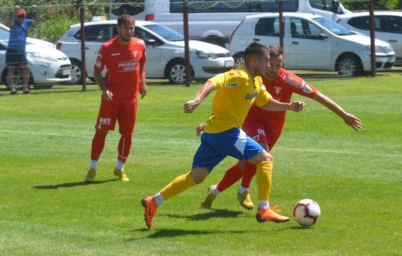 UTA a învins Progresul Pecica cu 2-0 în ultimul amical al verii disputat la Arad