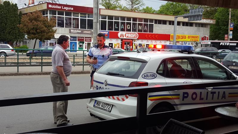 ATENȚIE șoferi ! Polițiștii vor fi prezenți miercuri după-masa în zona Micălaca pe Bd. Nicolae Titulescu