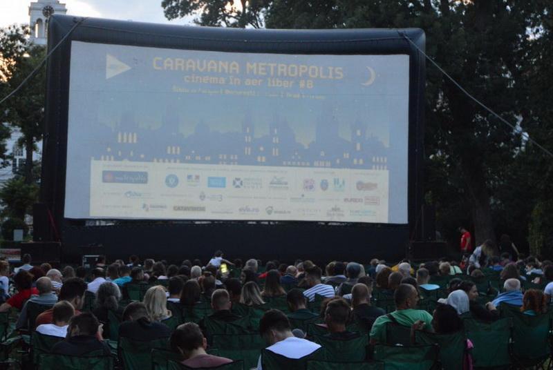 Al VIII-lea sezon de Caravana Metropolis în Parcul Eminescu
