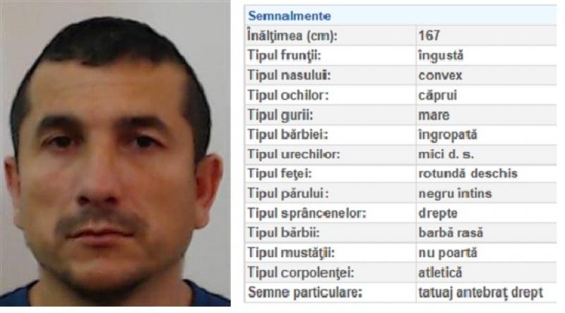 RECTIFICARE ! DEȚINUT din Arad a evadat la Timișoara. Dacă l-ai văzut sună la 112
