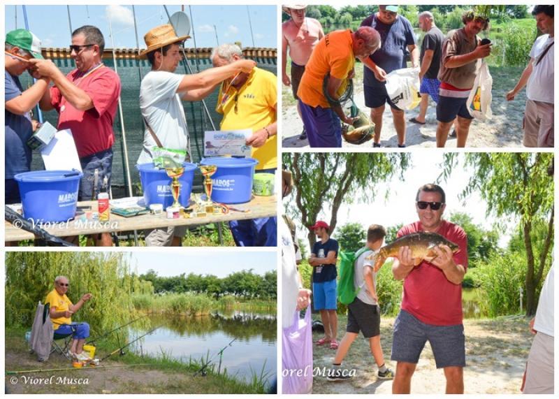 Cupa de vară AJF Arad la pescuit sportiv, o reușită deplină!
