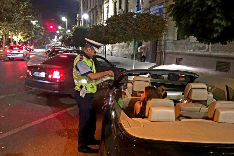 În acest weekend 29 de șoferi au fost prinși băuți la volan