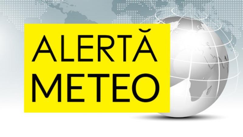 Alertă meteo! Cod galben de ploi și vijelii pentru Arad și o mare parte din țară