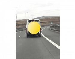 Bizonul zilei: cel mai econom mod de a transporta un autoturism! S-a întâmplat pe autostrada A1
