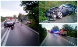 Accident frontal între două autoturisme între Sagu şi Vinga! Circulaţie închisă!