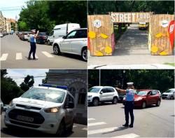 """Poliţiştii locali prezenţi la datorie în perioada desfășurării """"Street Food Festival"""""""