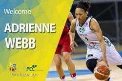 """FCC Baschet Arad transferă o fostă campioană a României! Americanca Adrienne Webb a semnat cu """"galben-albastrele"""""""