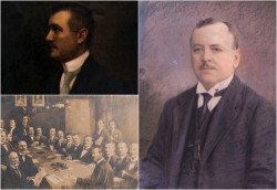 Exponatul lunii iulie: PORTRETUL PRIMARULUI IOAN ROBU, primul primar român al Aradului