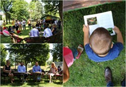 """Proiectul """"Biblioteca Estivală"""" dublează locurile de lectură din parcurile arădene"""