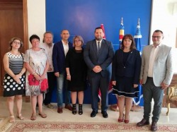 """Universitatea """"Aurel Vlaicu"""" din Arad prezentă la cel mai mare târg de educaţie din Tunisia"""