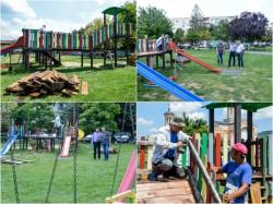 64 de locuri de joacă se vor repara în municipiu