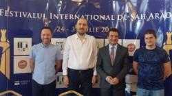 Start în Festivalul Internațional de Șah Arad 2019