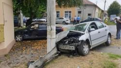 Accident rutier pe strada Oituz colț cu Ion Rațiu