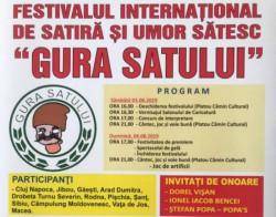 """Festivalul Internaţional de Satiră şi Umor Sătesc """"Gura Satului"""" debutează sâmbătă, la Macea"""