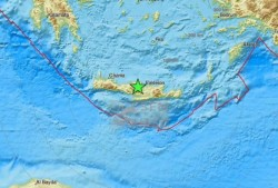 CUTREMUR puternic în Grecia miercuri dimineața ! Seismul a lovit insula Creta