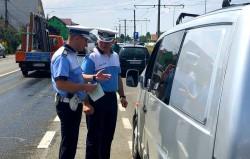 Polițiștii arădeni au dat amenzi șoferilor și pietonilor indisciplinați
