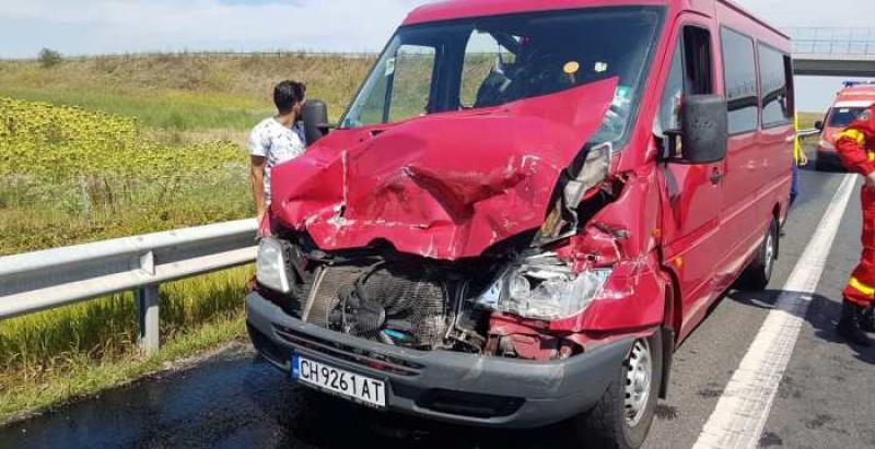 Accident cu victime pe autostrada Arad - Timișoara