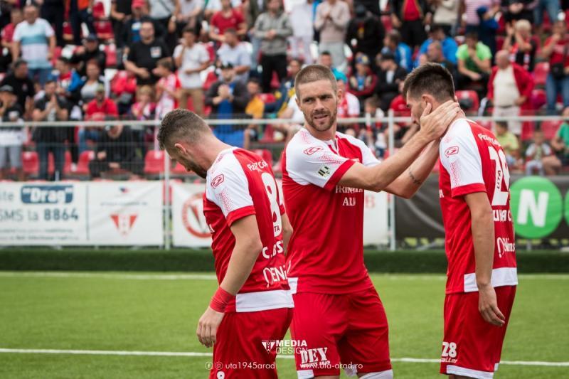 Debut perfect în noul sezon: UTA – Dunărea Călărași 3-0