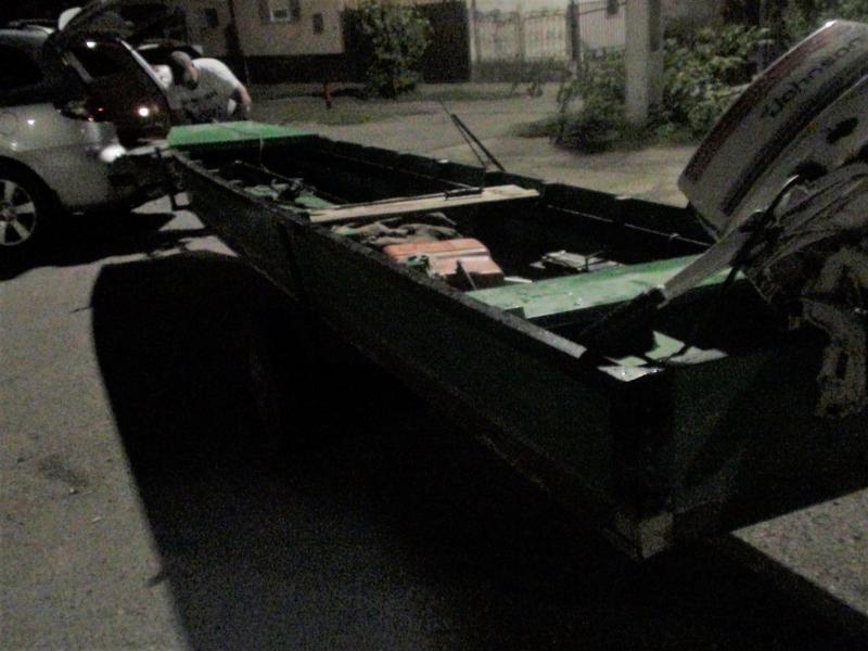 Doi bărbați s-au ales cu dosar penal după ce au fugit de jandarmii care i-au descoperit pescuind ilegal într-o barcă cu motor