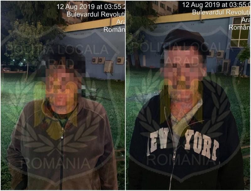 Scandal la Podgoria între un bărbat și o femeie