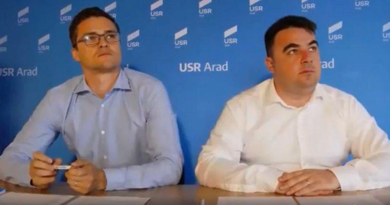 Parlamentarii USR Arad - comportament de stăpâni pe moșie