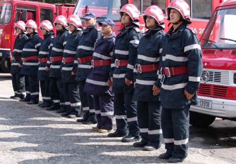 Inspectoratul pentru Situații de Urgență Arad, la datorie și în zile de sărbătoare