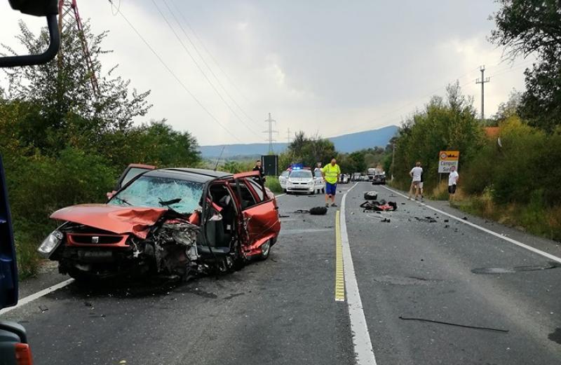Valea Mureşului blocată de un accident mortal sâmbătă după amiaza
