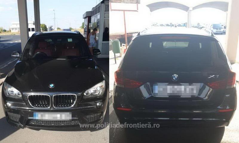 BMW căutat în Belgia depistat la vama Nădlac