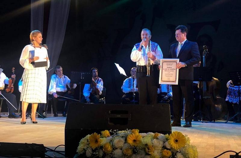 Iustin Cionca l-a desemnat pe Petrică Pașca ambasador al culturii arădene!