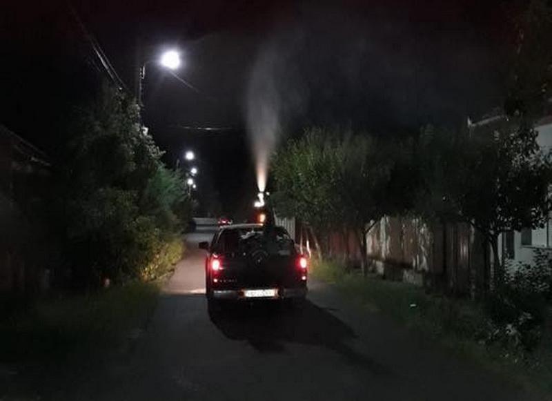 Luni şi marţi se reiau acţiunile de dezinsecţie în municipiul Arad