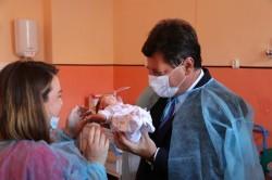Președintele Consiliului Județean Arad, pe șantierul secției de Neonatologie