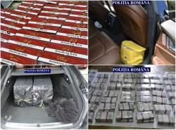 Peste 20.000 de țigări de contrabandă au fost găsite în Sânpetru German