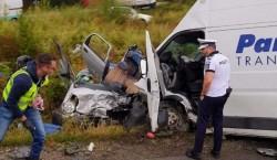IMAGINI cumplite în Bihor, unde sâmbătă dimineața a avut loc un accident mortal