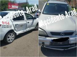 Accident cu Taxi și Opel în Bujac