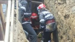 Bărbat prins sub un mal de pământ la Gurahonț