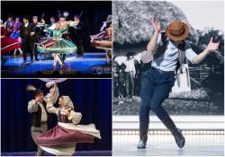Dansatori profesioniști și jazz cu artiști din Budapesta