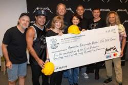 Metallica donează o sumă impresionantă pentru construcția unui spital din România