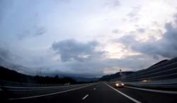 VIDEO| Lotul 4 al autostrăzii Lugoj-Deva, inaugurat de un bizon pe contrasens la nici două ore de la deschidere
